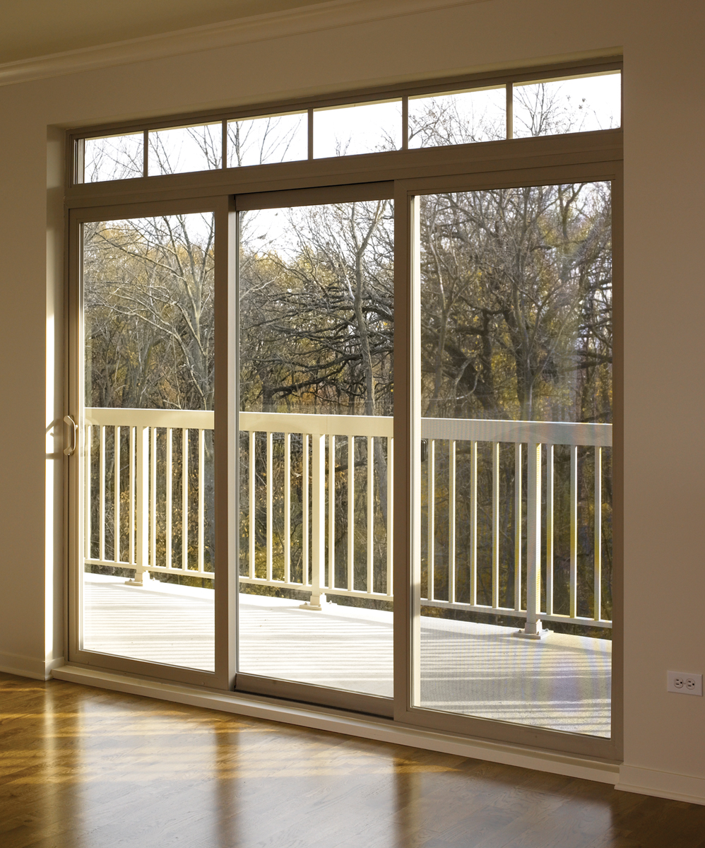 Residential glass central coast for Sliding glass door styles